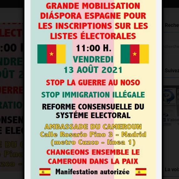 Diaspora camerounaise en Espagne: Une manifestation divise l'ambassadeur et ses concitoyens