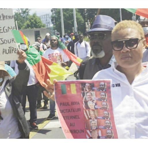 Manifestation anti Biya à Genève: Une autre marche est prévue le 28 août prochain