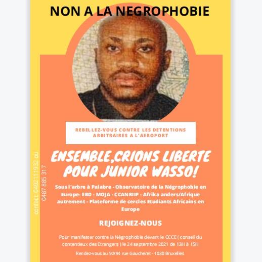 Mobilisation pour la libération de l'étudiant Junior MASUDI WASSO:Une grande manifestation annoncée