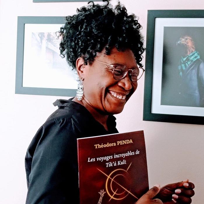 ECRITURE: THEODORA PENDA ATTIREE PAR LES CONTES D'AFRIQUE