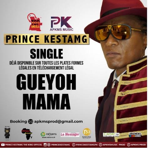 France/Cameroun: Prince Kestamg: GUEYOH Mama en téléchargement légal dès ce week-end