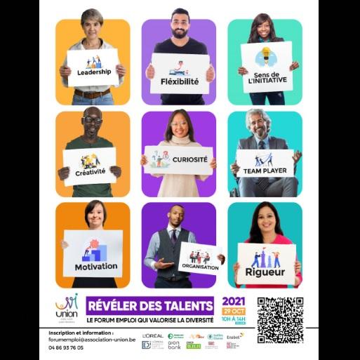 A ne pas manquer: 6ème édition de Révéler des talents, le forum emploi qui valorise la diversité