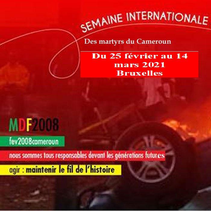 Belgique, Semaine des martyrs du Cameroun: la 13ième édition annoncée du 25 février au 14 mars 2021