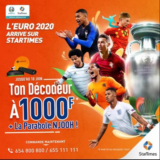 Euro 2020 sur Startimes: qui sont les favoris ?