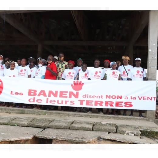 Les Banens disent non à la vente de leurs terres