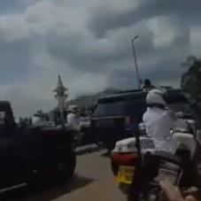 Paul Biya aurait-il effectué un tour dans les rues de Yaoundé ?