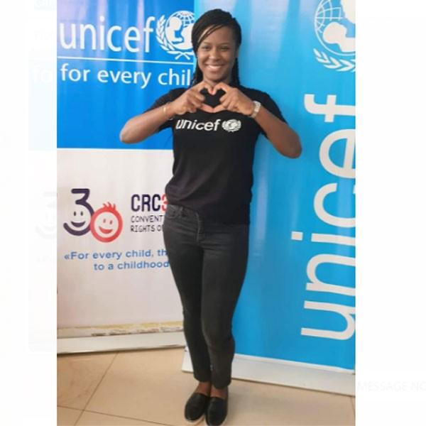 Charlotte Dipanda est désormais ambassadrice de l'UNICEF au Cameroun