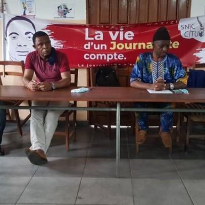 Le SNJC dénonce la confiscation du corps du journaliste Samuel Wazizi