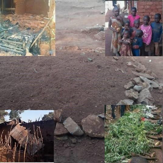 Massacres de Ngarbuh: 21 personnes tuées et enterrées dans 4 tombes