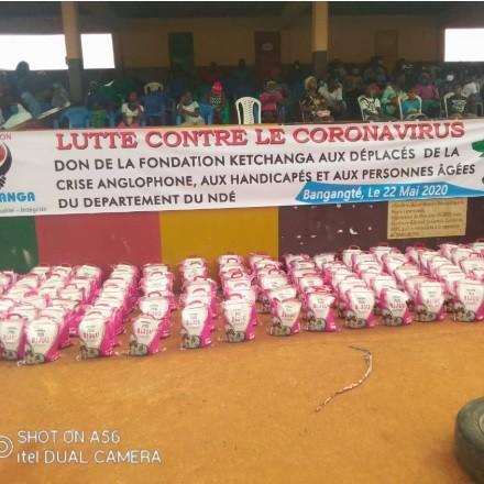 Lutte contre le Coronavirus : la solution Fondation Ketchanga