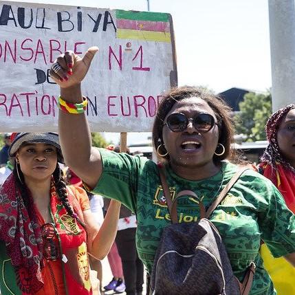 Manifestations contre Paul Biya:la jeunesse présidentielle promet des représailles contre la Suisse