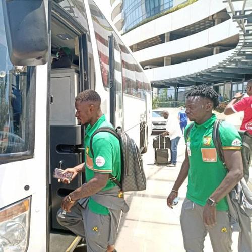 Urgent : Les lions quitte Maputo à 12 h 30 (images)