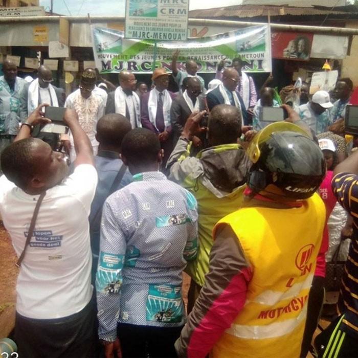 Message du Pr Maurice Kamto aux obsèques de Christophe Kamdem, régional MRC Ouest Cameroun