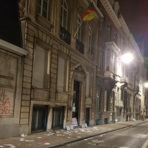 Casses à l'ambassade du Cameroun: L'ambassadeur du Cameroun en Belgique condamné par la justice belge à payer 1440 euros
