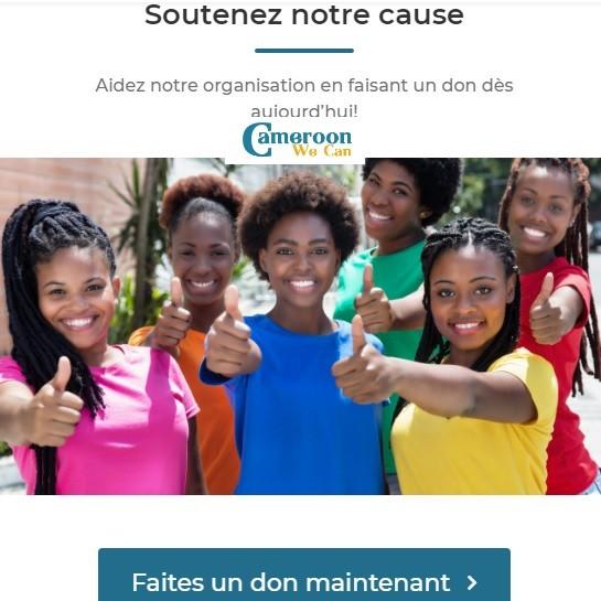L'Ong Cameroon We can dévoile son projet d'aide aux victimes de la crise anglophone au Cameroun