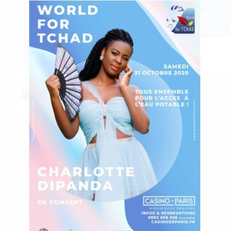 CHARLOTTE DIPANDA EN CONCERT AU CASINO PARIS