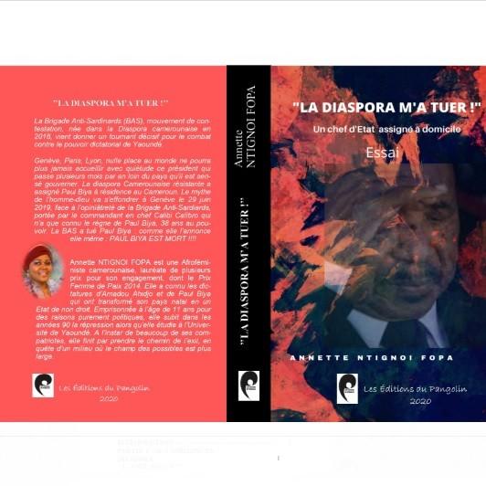 """Vient de paraître: """"LA DIASPORA M'A TUER"""" de Annette NTIGNOI FOPA"""