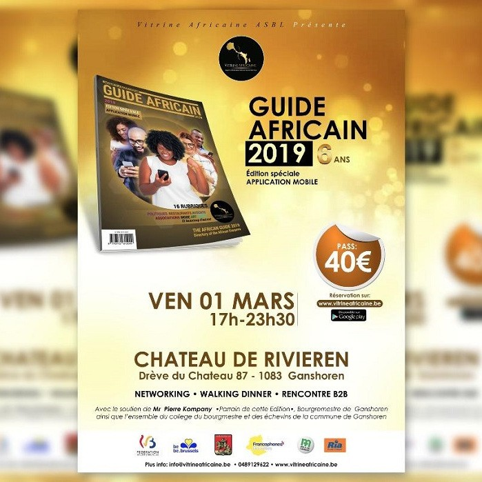 VITRINE AFRICAINE ASBL LANCE LA 6 EME EDITION DU GUIDE AFRICAIN DE BELGIQUE