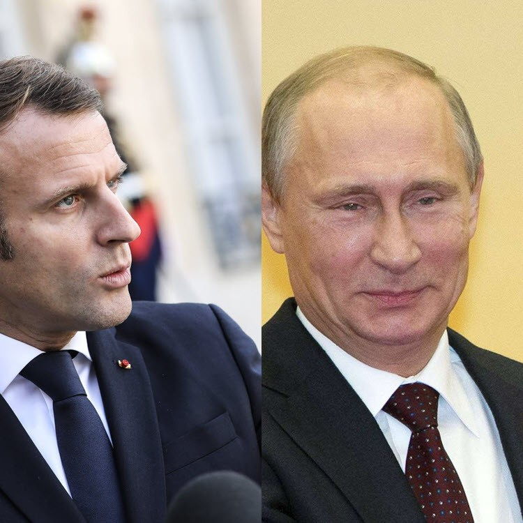 Afrique, le match France-Russie