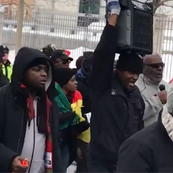 Canada : les images qu'il ne fallait pas rater lors de la manifestation des Camerounais d'Ottawa