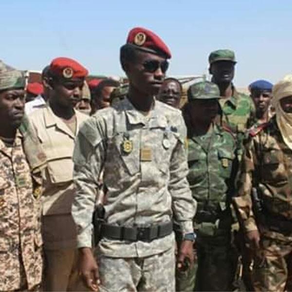 TCHAD : À 24 Ans, Ousmane Dicki devient le plus Jeune Général de Brigade d'Afrique