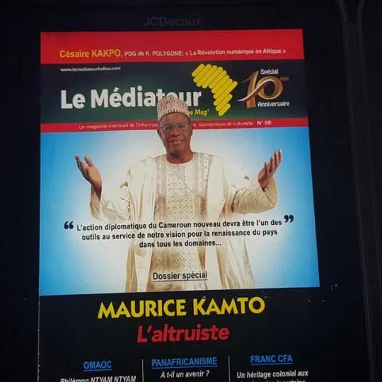 Une autre victoire indiscutable de Maurice Kamto