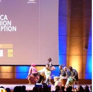 LA DANSE CAMEROUNAISE OVATIONNÉE A L'UNESCO LORS DE LE 3EME EDITION DE L'AFRICA FASHION RECEPTION