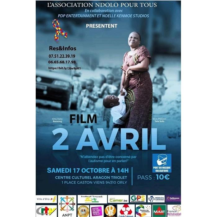 CINÉMA: FILM 2 AVRIL POUR LES FAMILLES AYANT EN LEUR SEIN DES ENFANTS AUTISTES