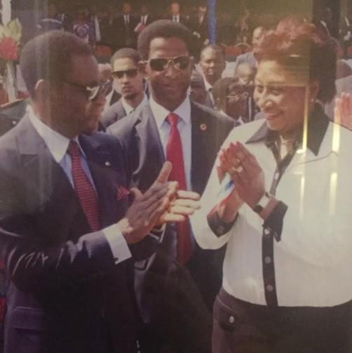 Françoise  Etoa invitée spéciale du PAN du Sénégal à la réunion de l'APF à Dakar