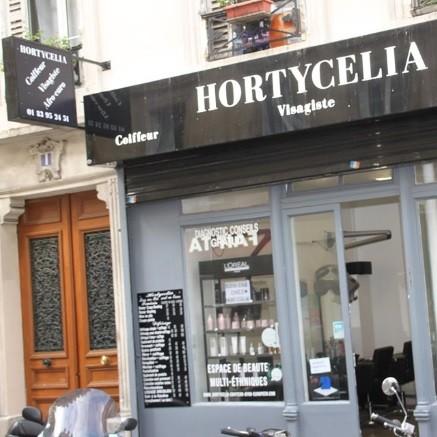 HORTYCELIA COIFFEUR VISAGISTE BEAUTÉ AFRO EUROPÉEN S'INSTALLE 1 RUE DAUTANCOURT A PARIS
