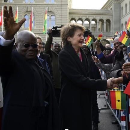 Visite historique du président du Ghana en Suisse