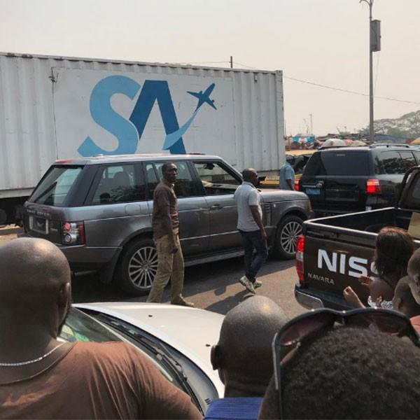 RDC : Joseph Kabila bloqué dans un embouteillage